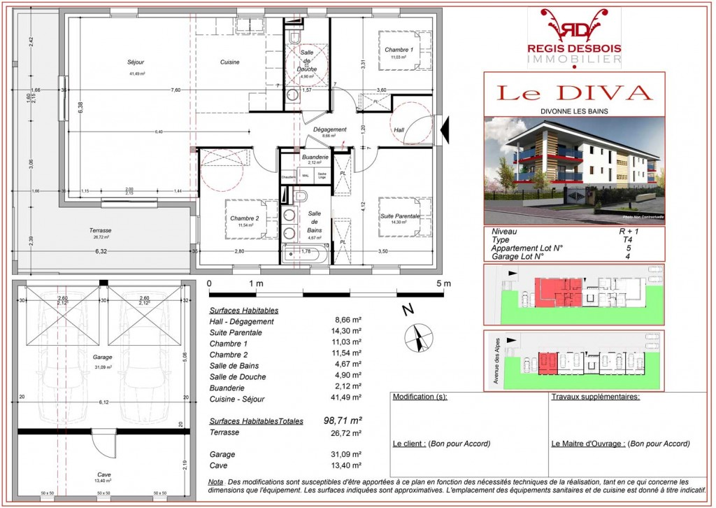 promotions regis desbois immobilier. Black Bedroom Furniture Sets. Home Design Ideas