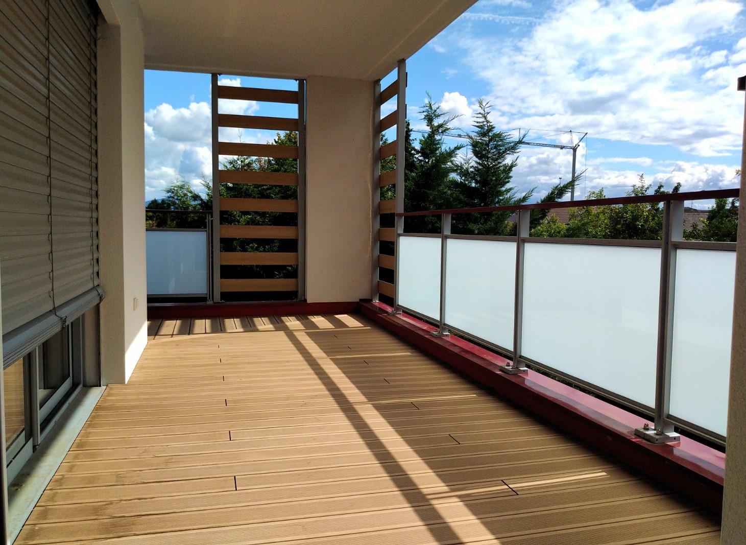 Terrasse appartement divonne les bains